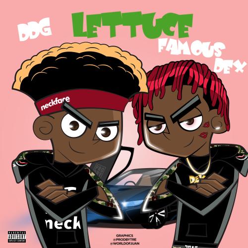 DDG Lettuce ft Famous Dex Instrumental by TreOnTheBeat