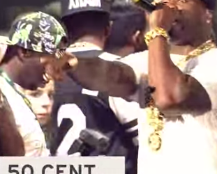 50 Cent performing with G-Unit at Summer Jam