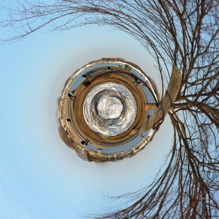 St Augustine Quotes On Human Nature: Tiny Planet, Park By Christine Kalina