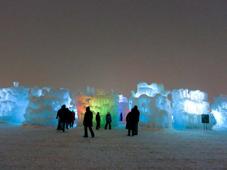 Photo Courtesy Of Ice Castles Ice Castles In Midway Utah