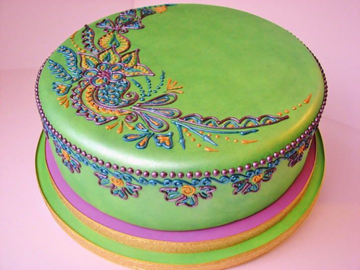 Mehndi Cake Manchester : Beautiful food doodles beautifulnow is now
