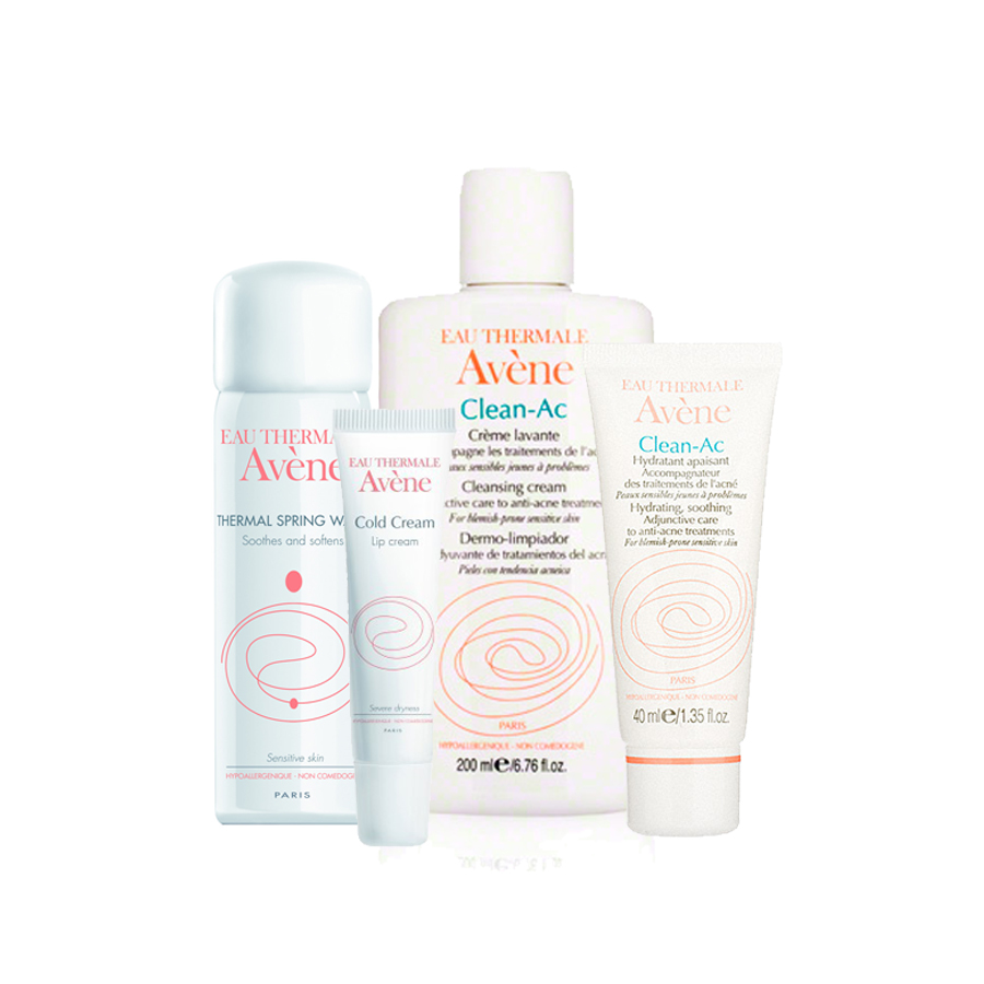 Avene Clean-AC Acne Adjunctive Care Regimen