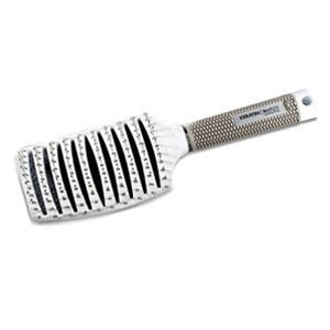 Keratin Complex Curved Vent Brush by Coppola - White