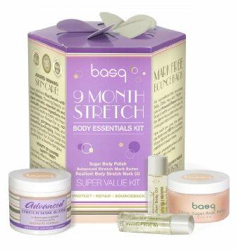 Basq 9 Month Stretch Body Essentials Kit