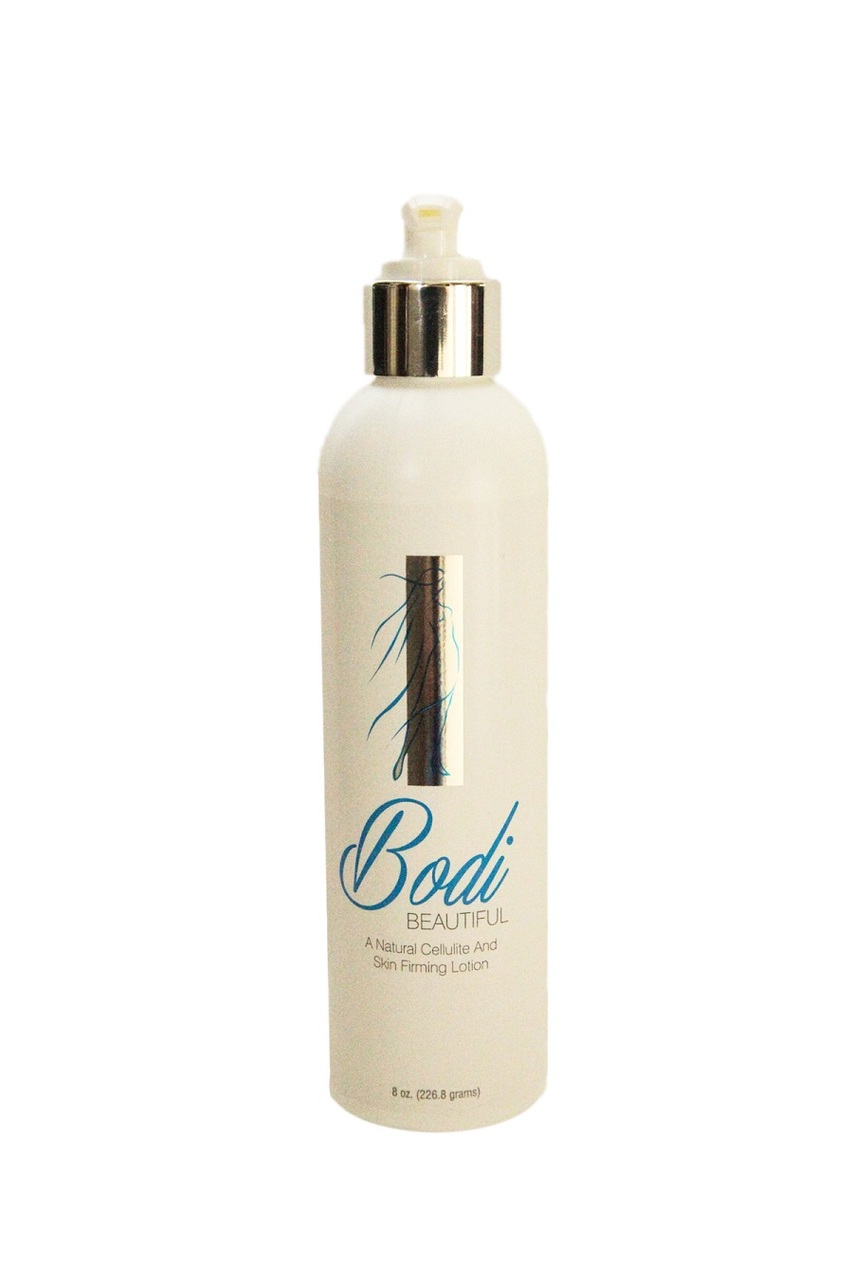 Bodi Beautiful Natural Cellulite and Skin Firming Lotion 8 oz