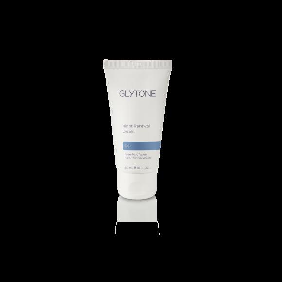 Glytone Night Renewal Cream 1.6 Ounce