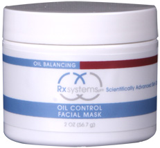 Rx Systems Oil Control Facial Mask 2 oz
