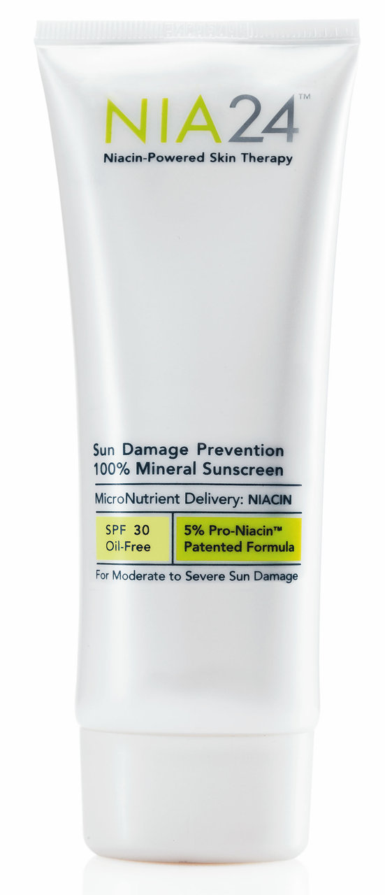 NIA24 Sun Damage Prevention 100% Mineral Sunscreen SPF 30 2.5 oz