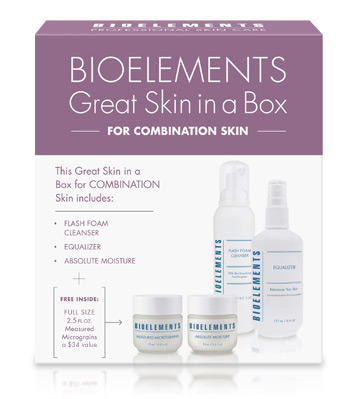 Bioelements Great Skin in a Box Starter Kit - Combination Skin