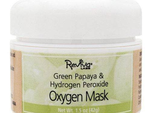 Reviva Labs Green Papaya Oxygenating Radiance Mask with Hydrogen Peroxide