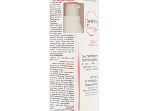 Bioderma Sensibio Tolerance + Cream