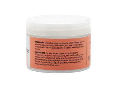 Reviva Labs Daytime Skin Brightener Fade Cream with Kojic Acid