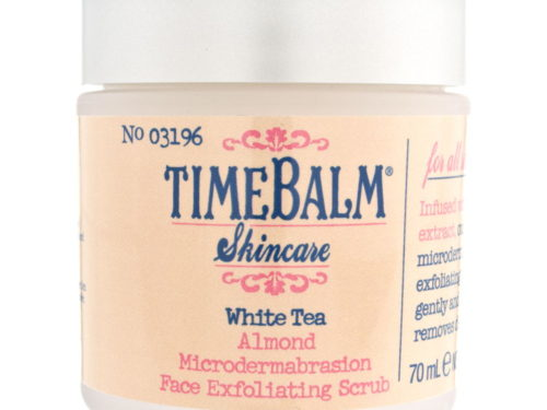 theBalm Time Balm White Tea Almond Microdermabrasion Face Exfoliating Scrub