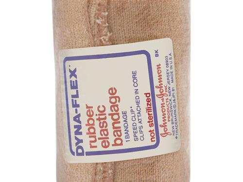 Johnson & Johnson Dyna-Flex Rubber Elastic Bandage