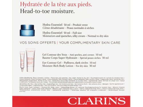 Clarins Hydra-Essentiel Value Pack