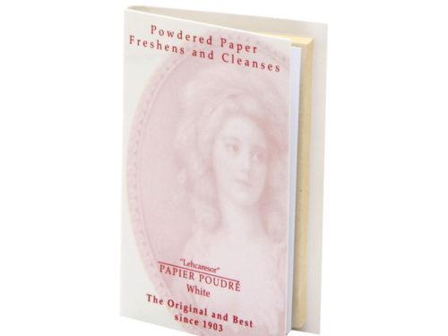 Papier Poudre Oil Blotting Papers - White