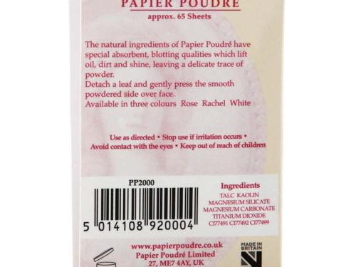 Papier Poudre Oil Blotting Papers - Dark Rachel