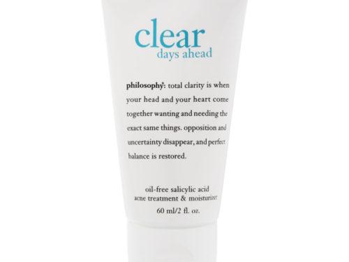 Philosophy Clear Days Ahead Acne Spot Treatment & Moisturizer