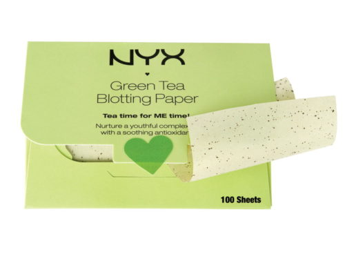 NYX Cosmetics Green Tea Face Blotting Paper