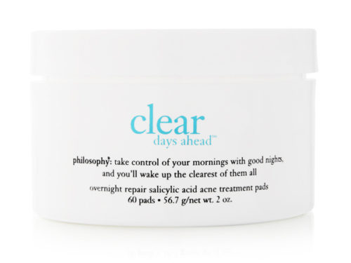 Philosophy Clear Days Ahead Overnight Repair Acne Treatment Pads