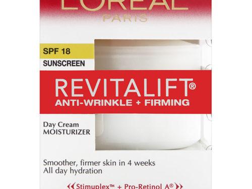 L'Oreal RevitaLift Day Cream SPF 18 Anti-Wrinkle & Firming Moisturizer