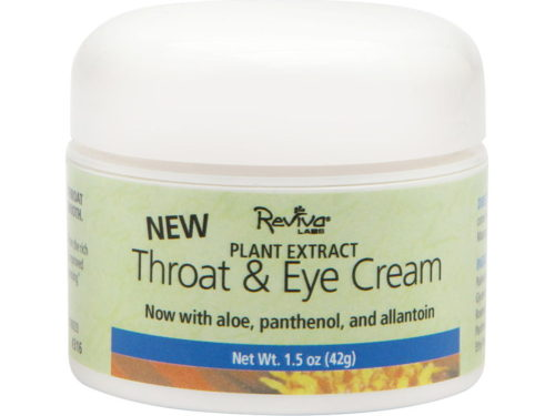 Reviva Labs Throat + Eye Cream