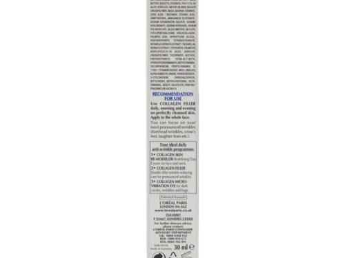 L'Oreal Dermo-Expertise Wrinkle De-Crease Collagen Filler (Double Filler)