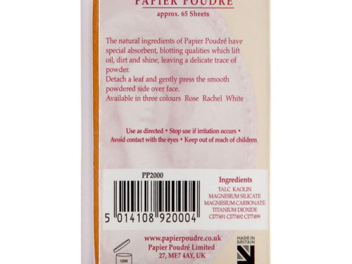 Papier Poudre Oil Blotting Papers - Rachel