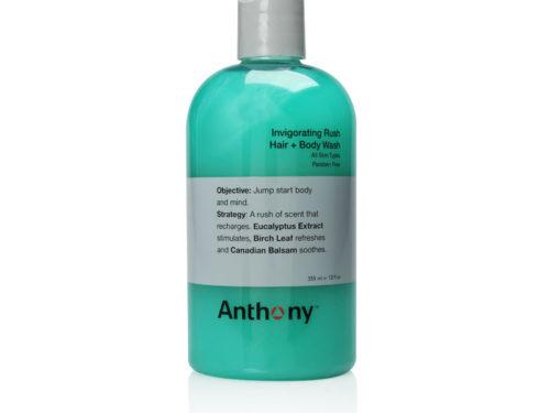 Anthony Logistics for Men Invigorating Rush Hair + Body Wash