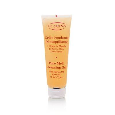 Clarins Pure Melt Cleansing Gel with Marula Oil Rinse-Off