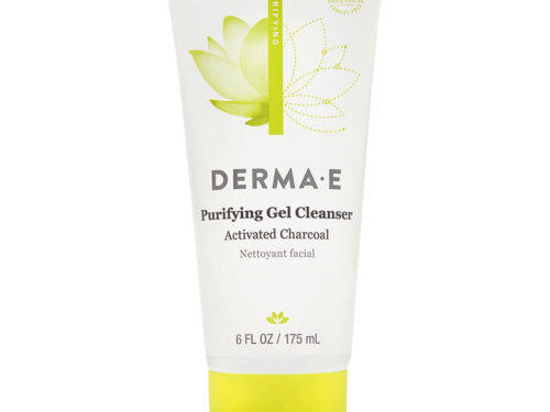 Derma E Purifying Gel Cleanser Activated Charcoal