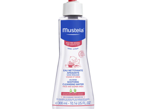Mustela No-Rinse Soothing Cleansing Water for Very Sensitive Skin