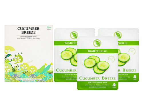 BioRepublic Cucumber Breeze Soothing Fiber Mask