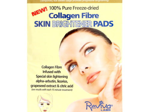 Reviva Labs Collagen-Fibre Skin Brightener Pads