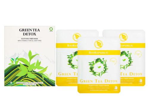 BioRepublic Green Tea Detox Soothing Fiber Mask