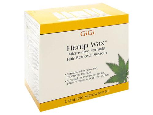 GiGi Hemp Wax Microwave Formula Hair Removal System Complete Microwave Kit