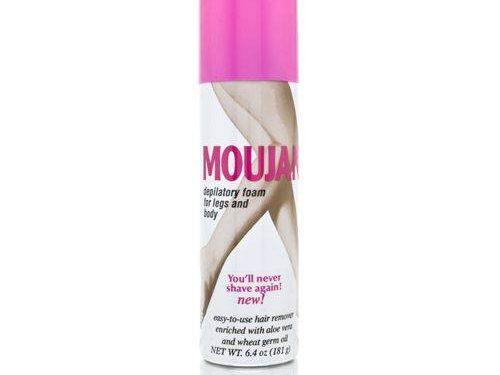 Moujan Depilatory Foam for Legs and Body
