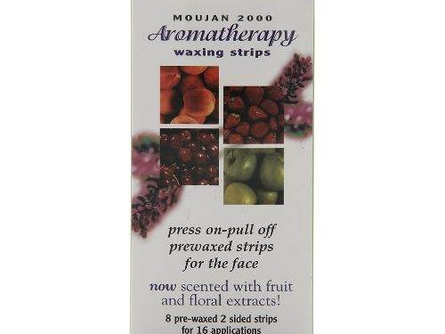 Moujan 2000 Aromatherapy Waxing Strips for Face