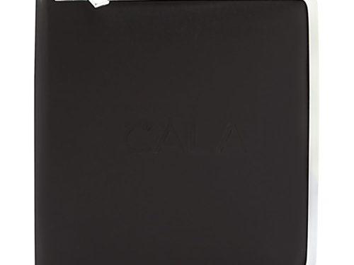 Cala Pro 11 Piece Chrome Deluxe Manicure Set - Black Zippered Case
