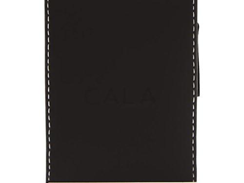 Cala Pro 9 Piece Chrome Deluxe Manicure Set - Black Zippered Case