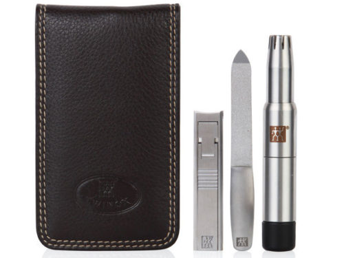 Zwilling Pour Homme Three Piece Face and Nail Grooming Kit