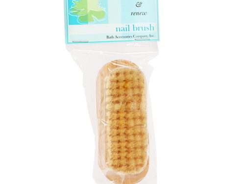 Bath Accessories Oval Wooden Nail Brush