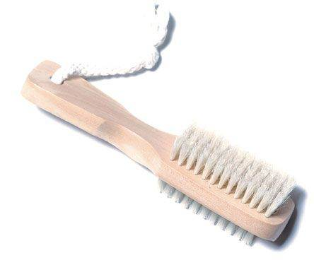 Bath Accessories Gardener's Wooden Nail Brush