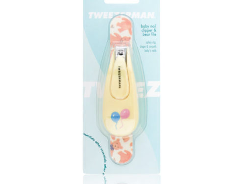 Tweezerman Baby Nail Clipper & Bear File