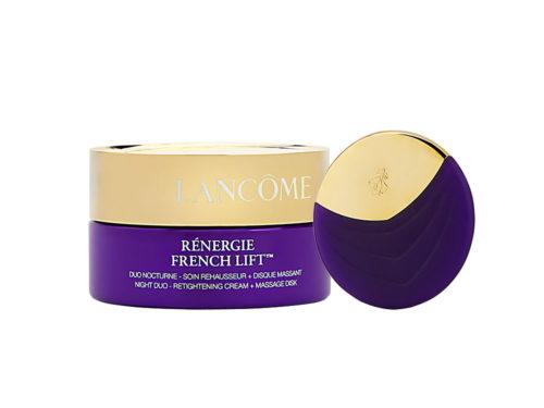 Lancome Renergie French Lift Night Duo Retightening Cream + Massage Disk