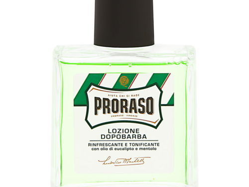 Proraso After Shave Lotion for Men with Eucalyptus Oil and Menthol Refreshing and Toning Formula