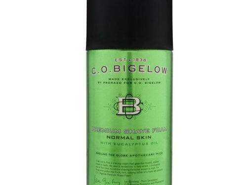 C.O. Bigelow Premium Shave Foam with Eucalyptus Oil