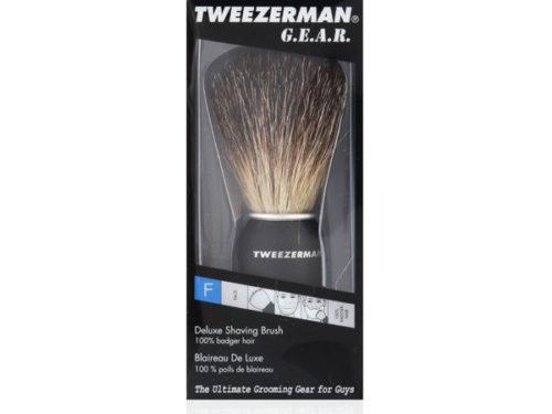 Tweezerman G.E.A.R. Deluxe Shaving Brush