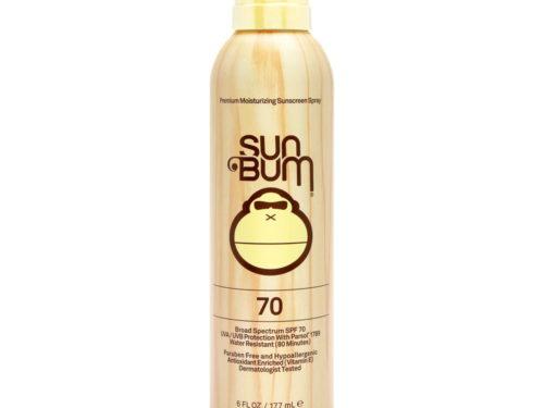 Sun Bum Continuous Spray Sunscreen Broad Spectrum SPF 70