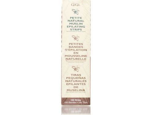 "GiGi Natural Muslin Epilating Strips Small ( 1.75"" x 4.5"" )"